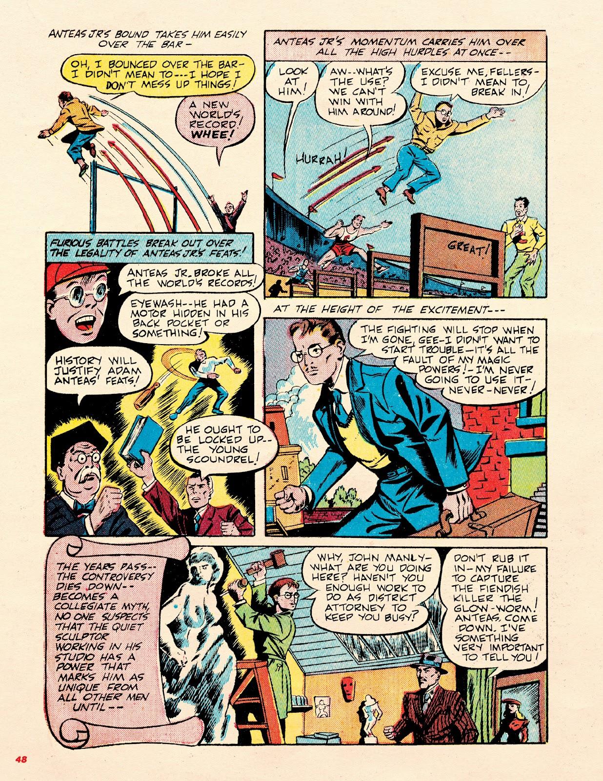 Read online Super Weird Heroes comic -  Issue # TPB 2 (Part 1) - 48