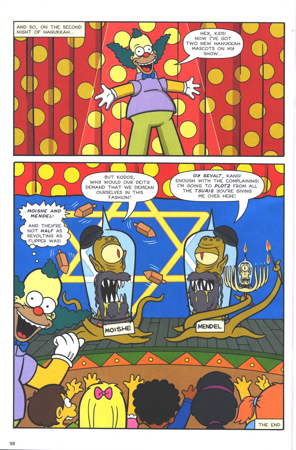 Read online The Simpsons Winter Wingding comic -  Issue #3 - 40