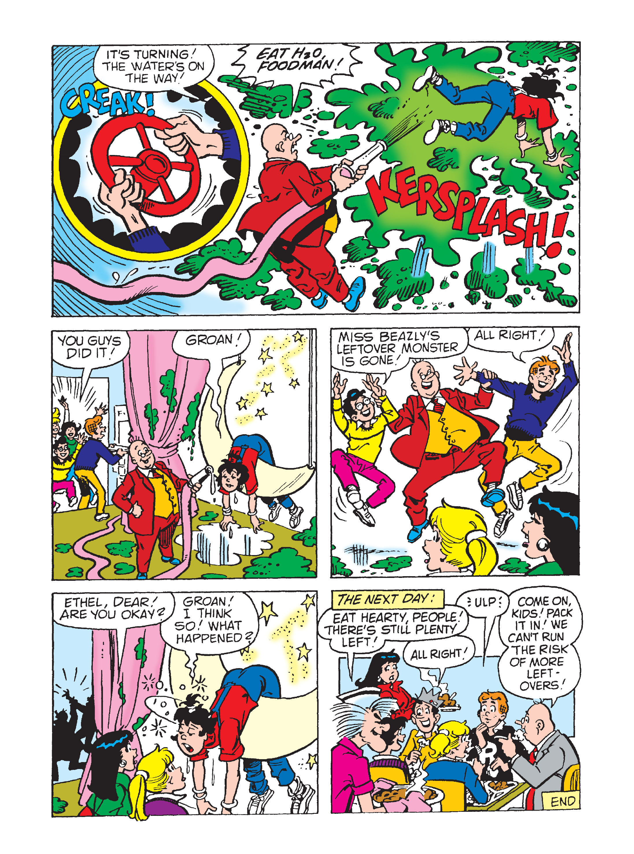 Read online Archie's Funhouse Double Digest comic -  Issue #2 - 117