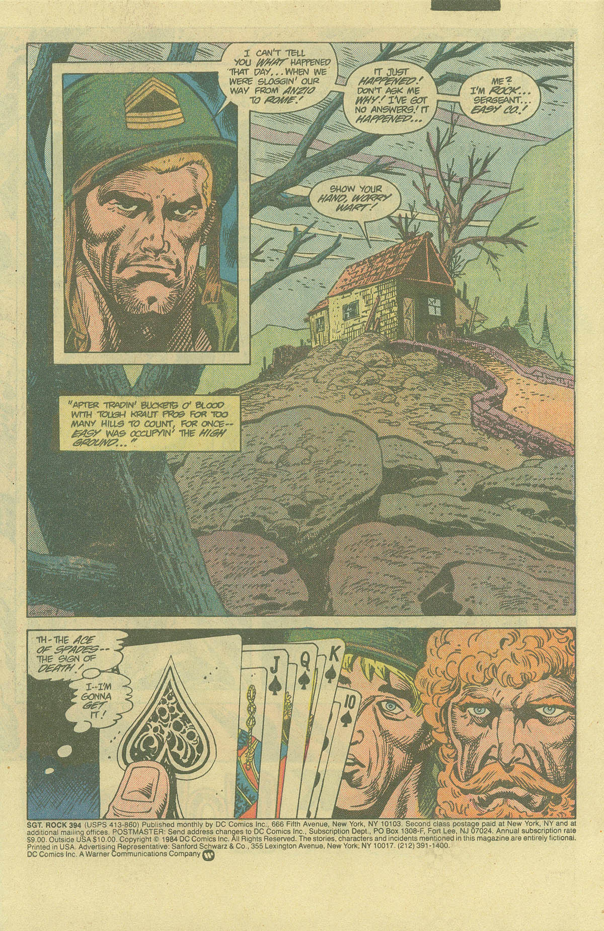 Read online Sgt. Rock comic -  Issue #394 - 3