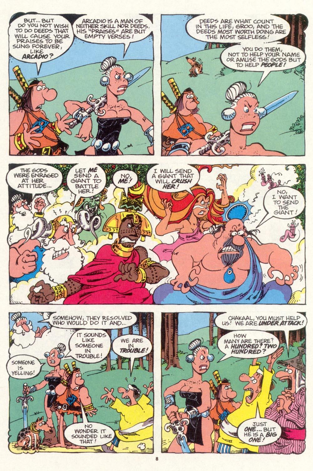 Read online Sergio Aragonés Groo the Wanderer comic -  Issue #98 - 9