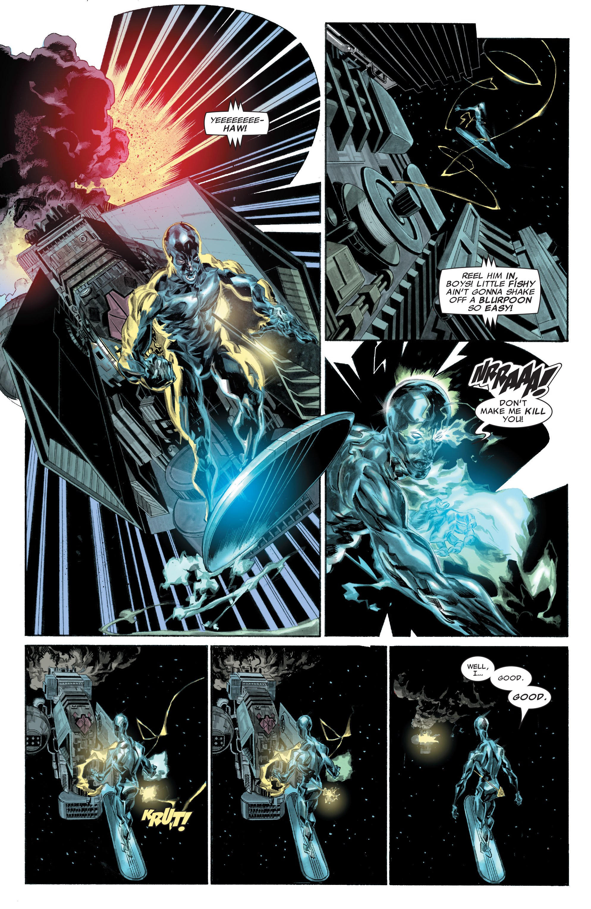 Read online Silver Surfer: In Thy Name comic -  Issue #1 - 7