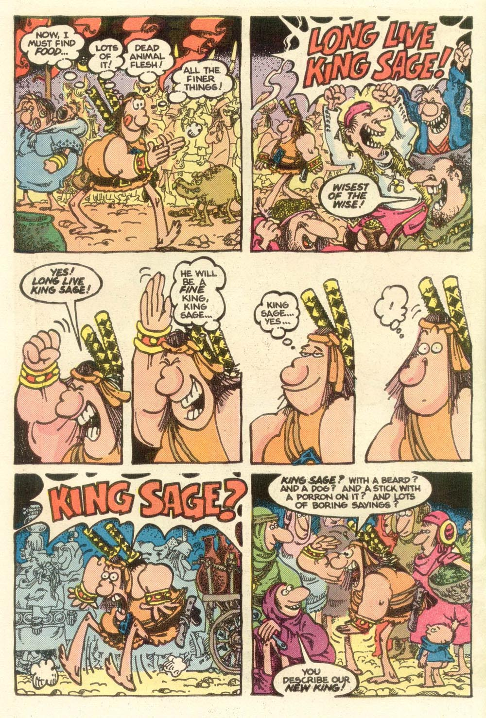 Read online Sergio Aragonés Groo the Wanderer comic -  Issue #13 - 4