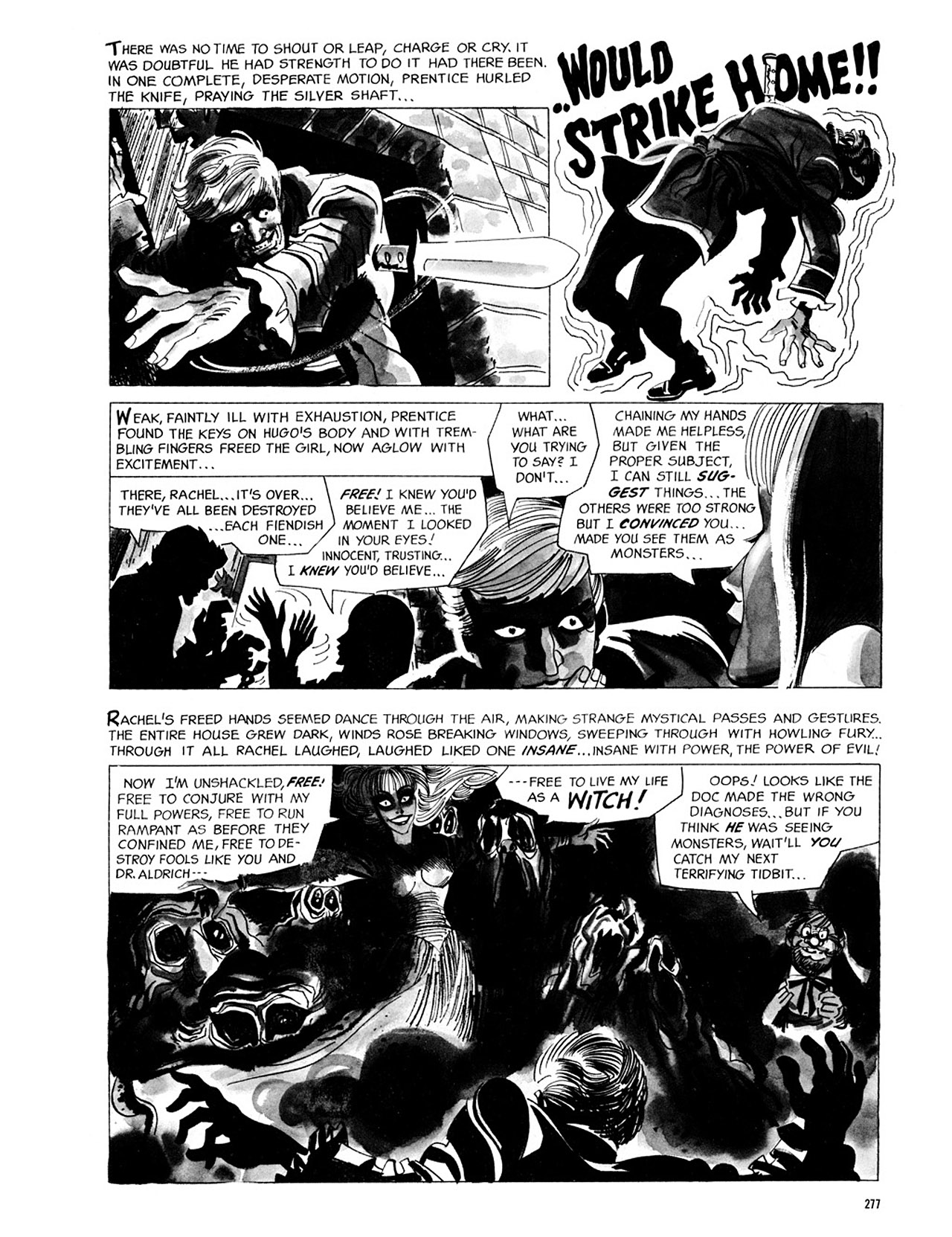 Read online Eerie Archives comic -  Issue # TPB 2 - 278