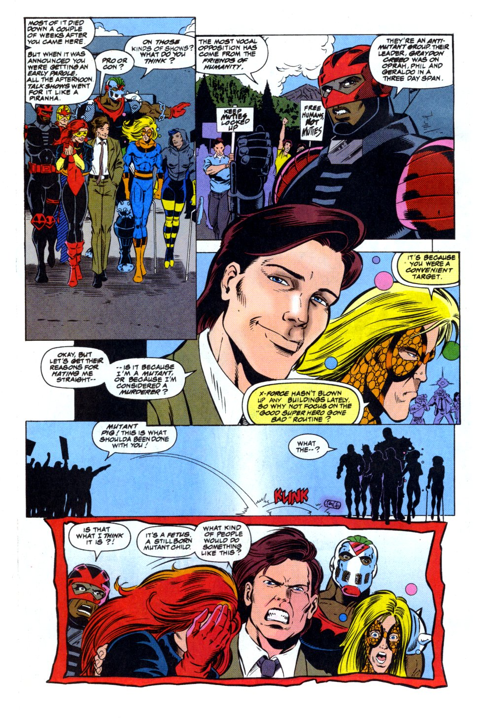 The New Warriors Issue #43 #47 - English 5