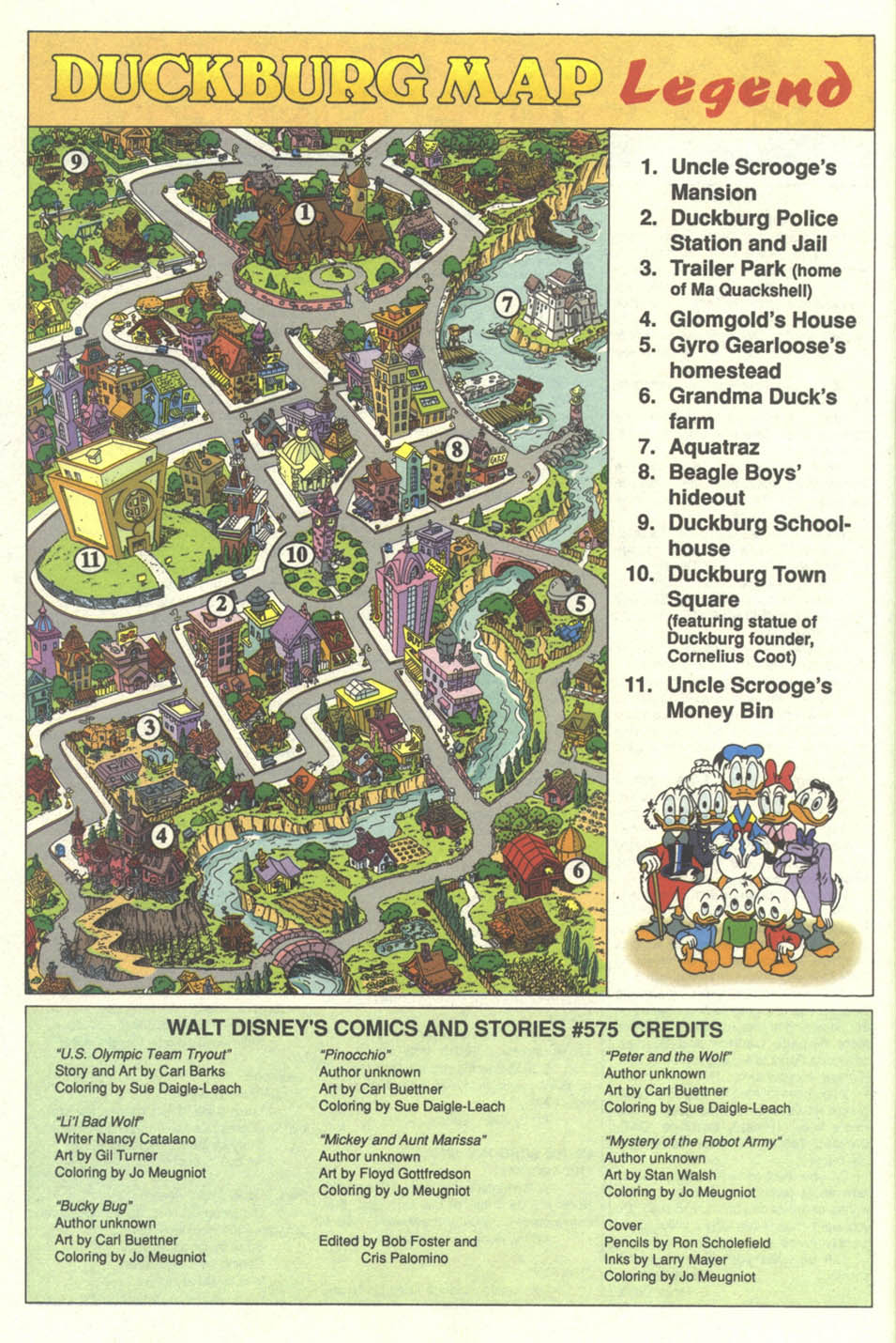 Walt Disney's Comics and Stories issue 575 - Page 50