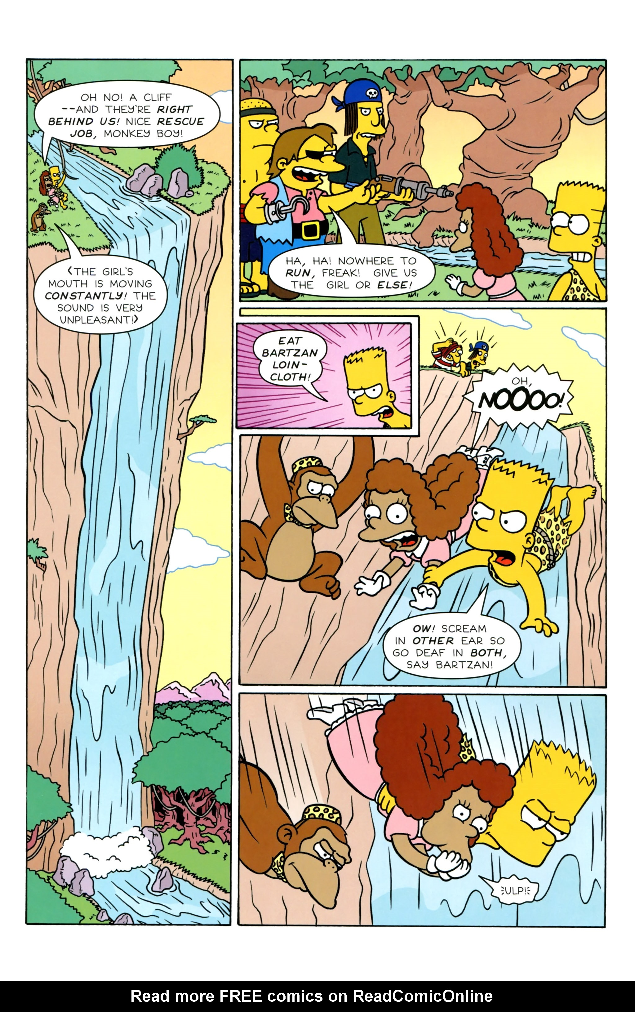 Read online Simpsons Illustrated (2012) comic -  Issue #20 - 31
