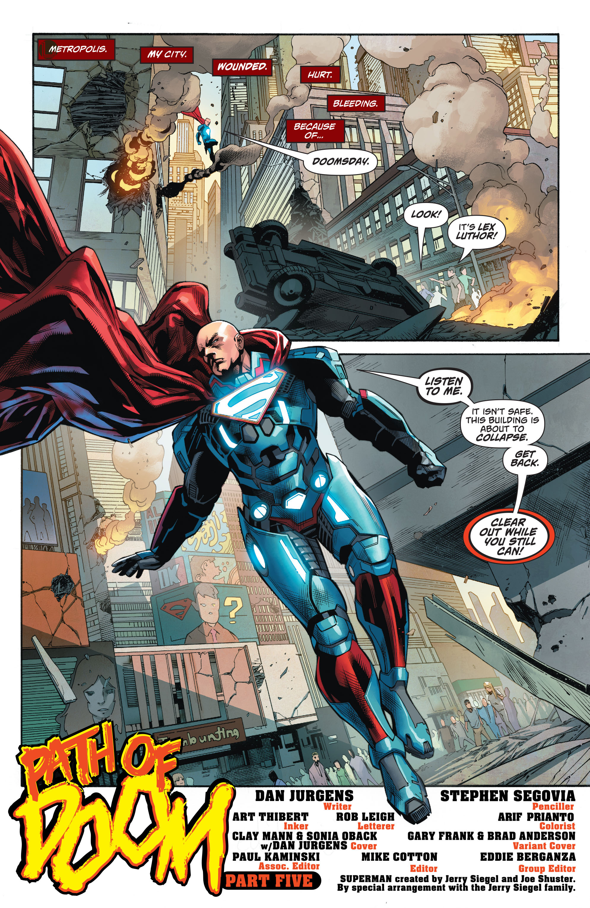 Read online Action Comics (2016) comic -  Issue #961 - 4