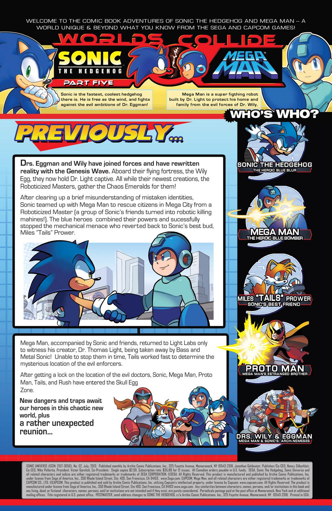 Read online Sonic Mega Man Worlds Collide comic -  Issue # Vol 2 - 9