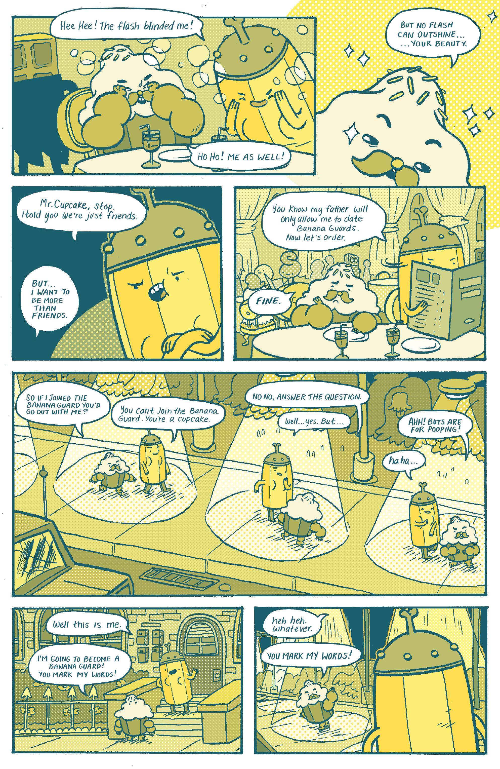 Read online Adventure Time: Banana Guard Academ comic -  Issue #1 - 12