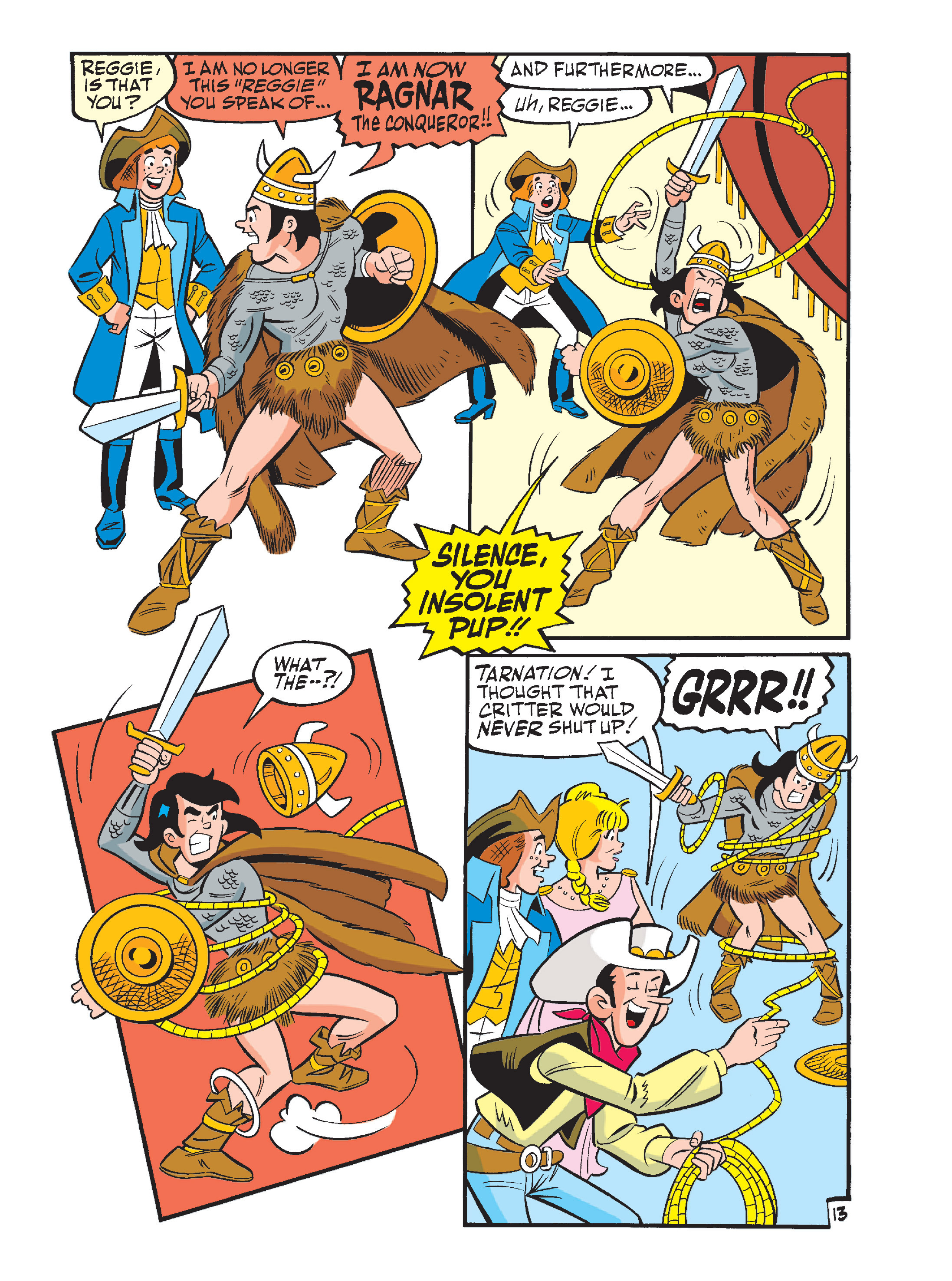 Read online Archie's Funhouse Double Digest comic -  Issue #15 - 48