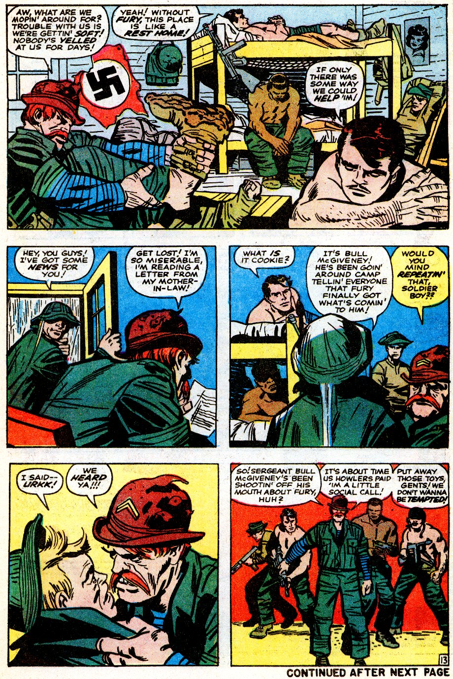 Read online Sgt. Fury comic -  Issue # _Special 5 - 52