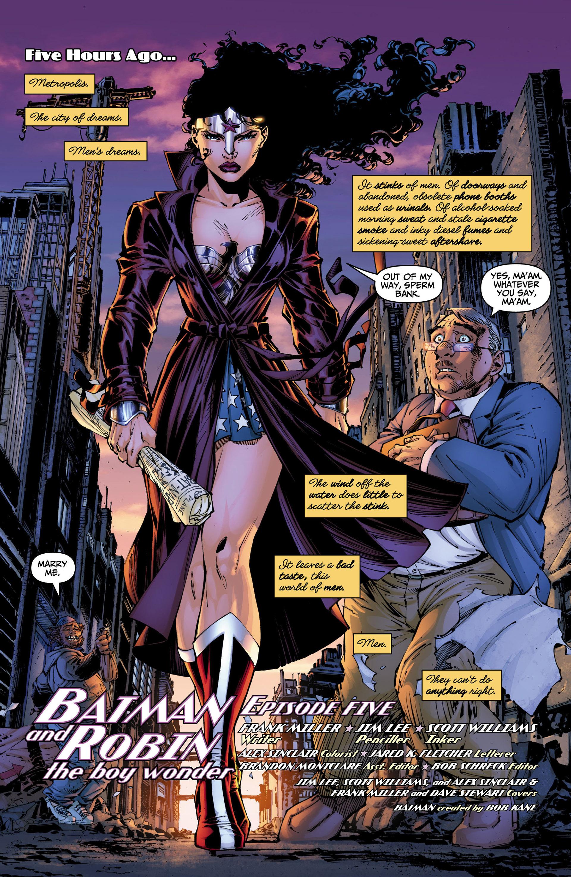 Read online All Star Batman & Robin, The Boy Wonder comic -  Issue #5 - 2