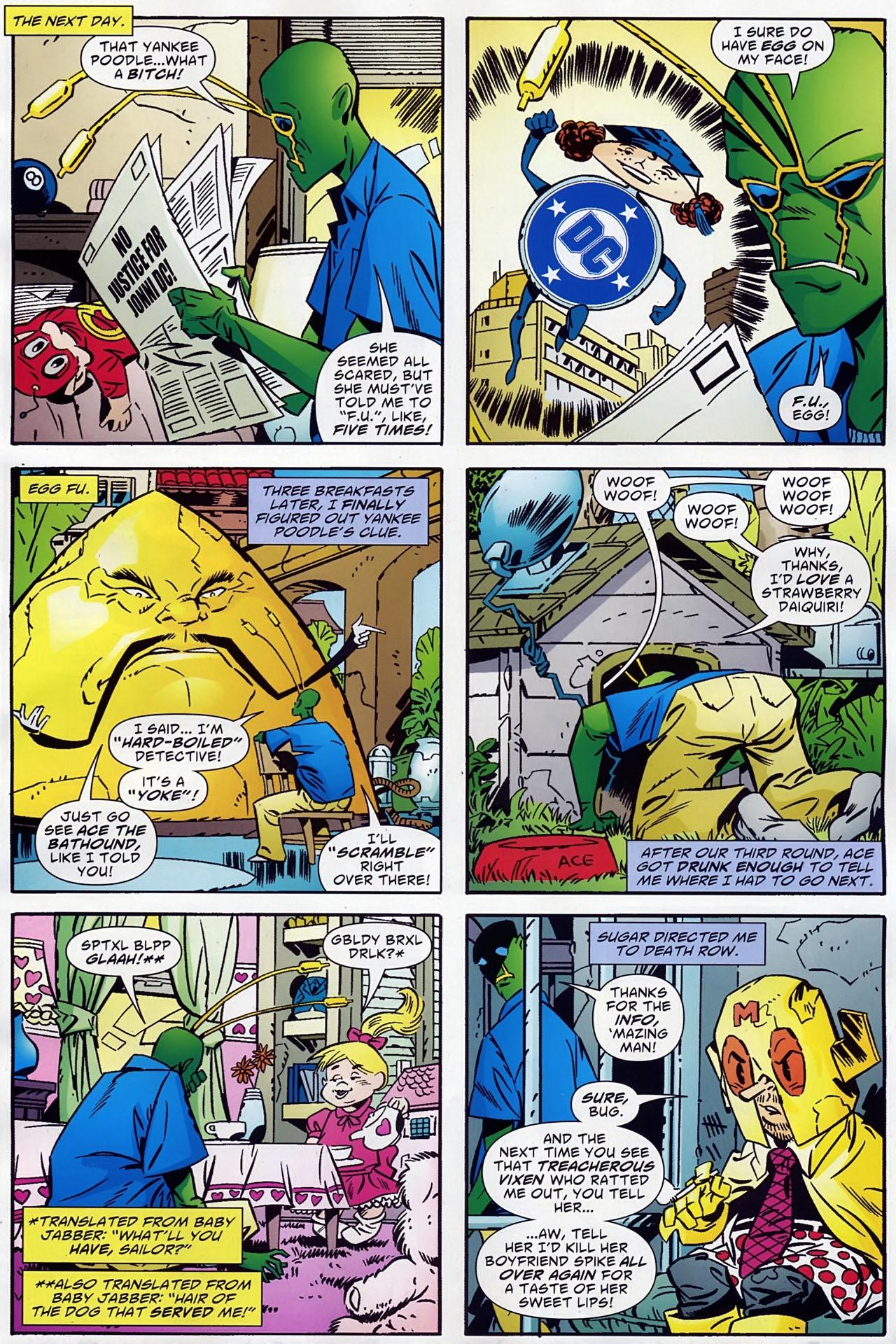 Read online Ambush Bug: Year None comic -  Issue #1 - 12
