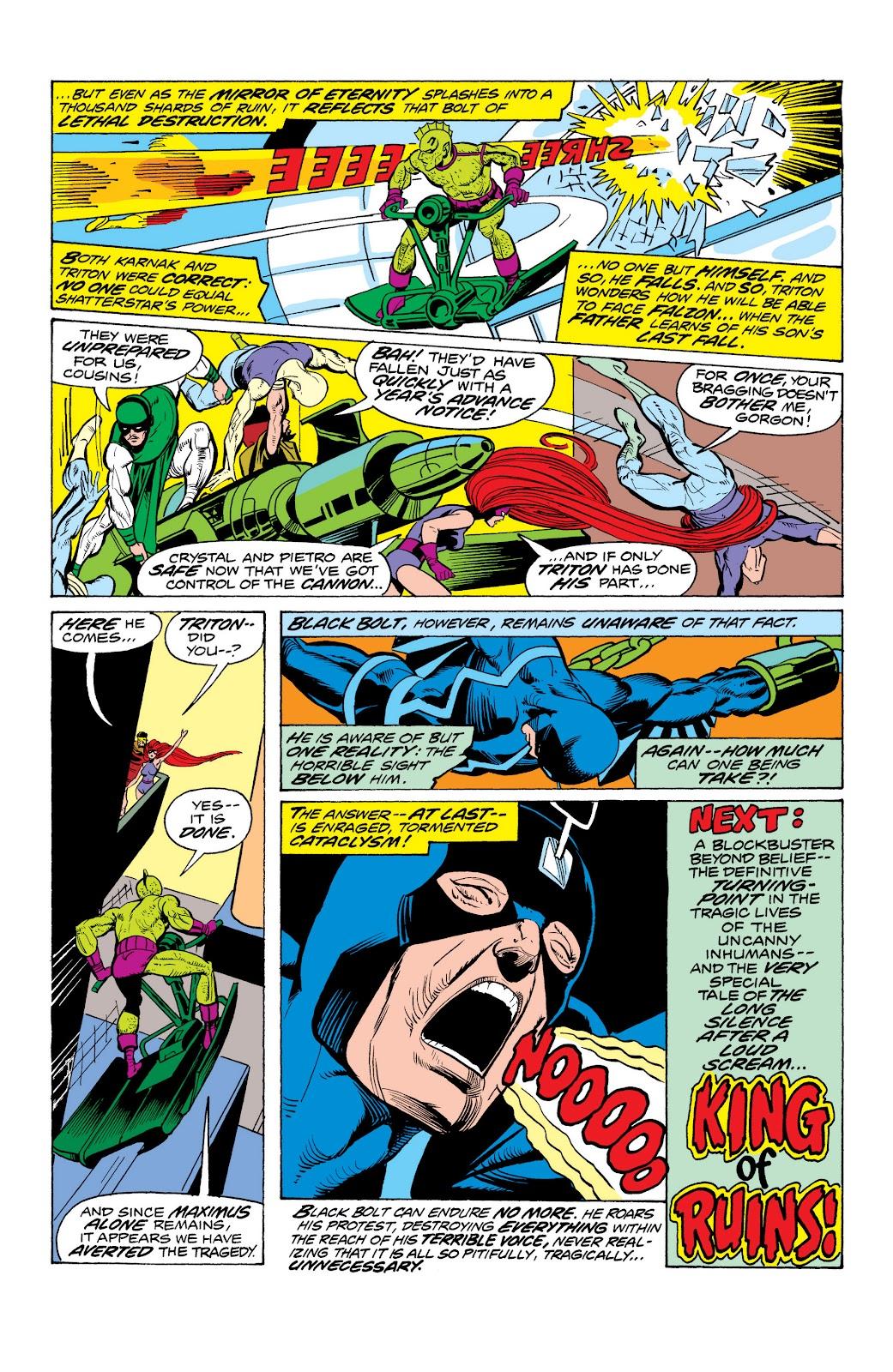 Read online Marvel Masterworks: The Inhumans comic -  Issue # TPB 2 (Part 1) - 99