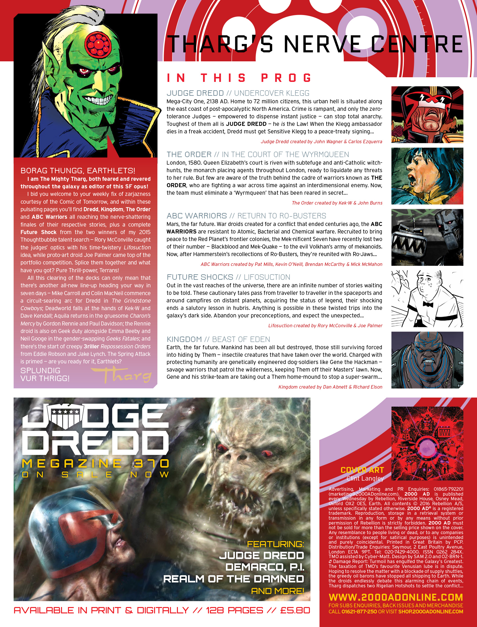 Read online 2000 AD comic -  Issue #1972 - 2