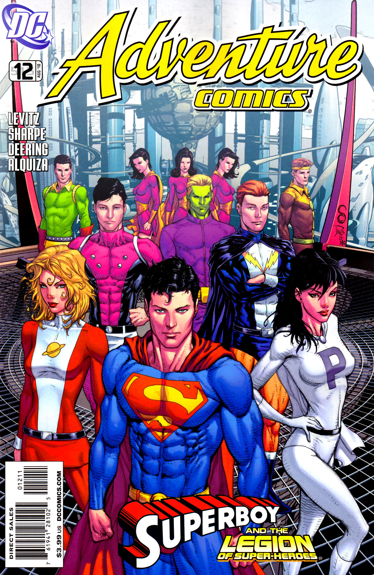 Read online Adventure Comics (2009) comic -  Issue #12 - 1