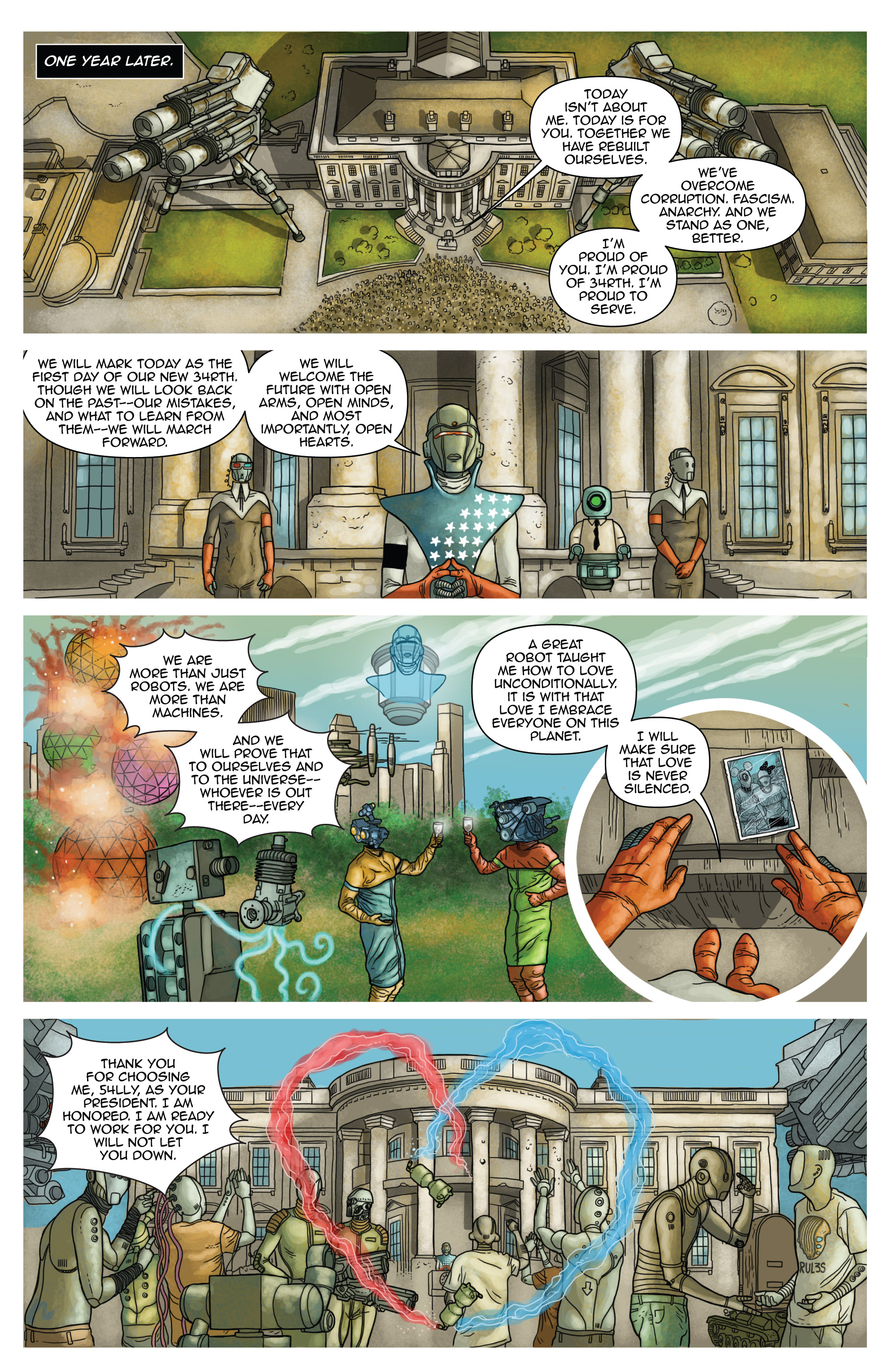 Read online D4VEocracy comic -  Issue #4 - 23