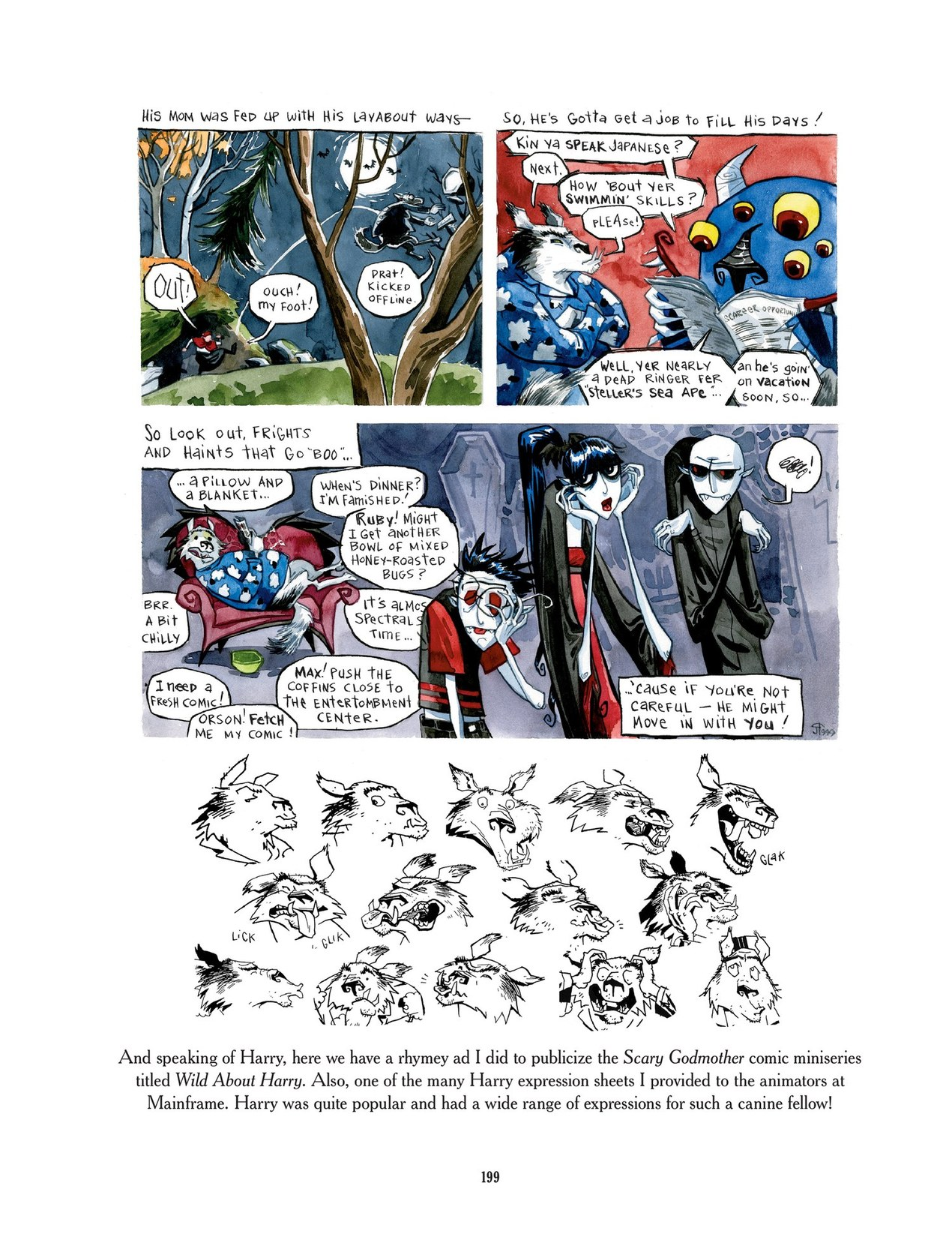 Read online Scary Godmother comic -  Issue # TPB - 199