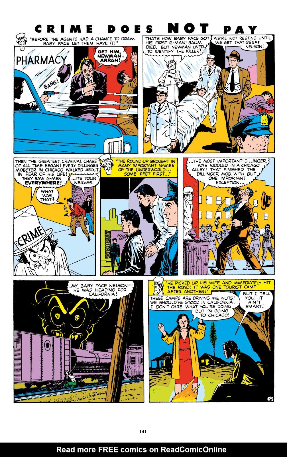 Read online Crime Does Not Pay Archives comic -  Issue # TPB 8 (Part 2) - 42