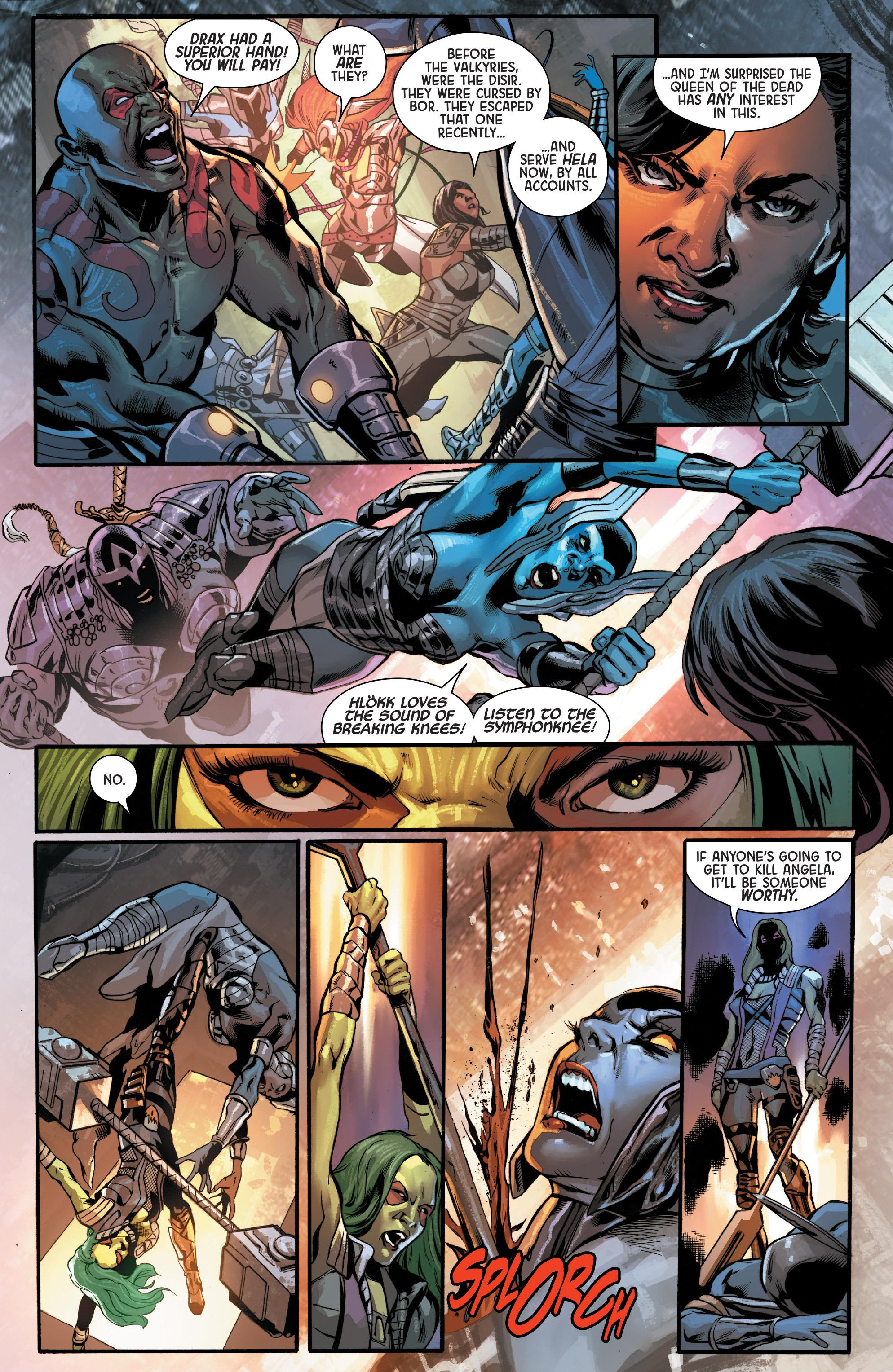 Read online Angela: Asgard's Assassin comic -  Issue #4 - 10