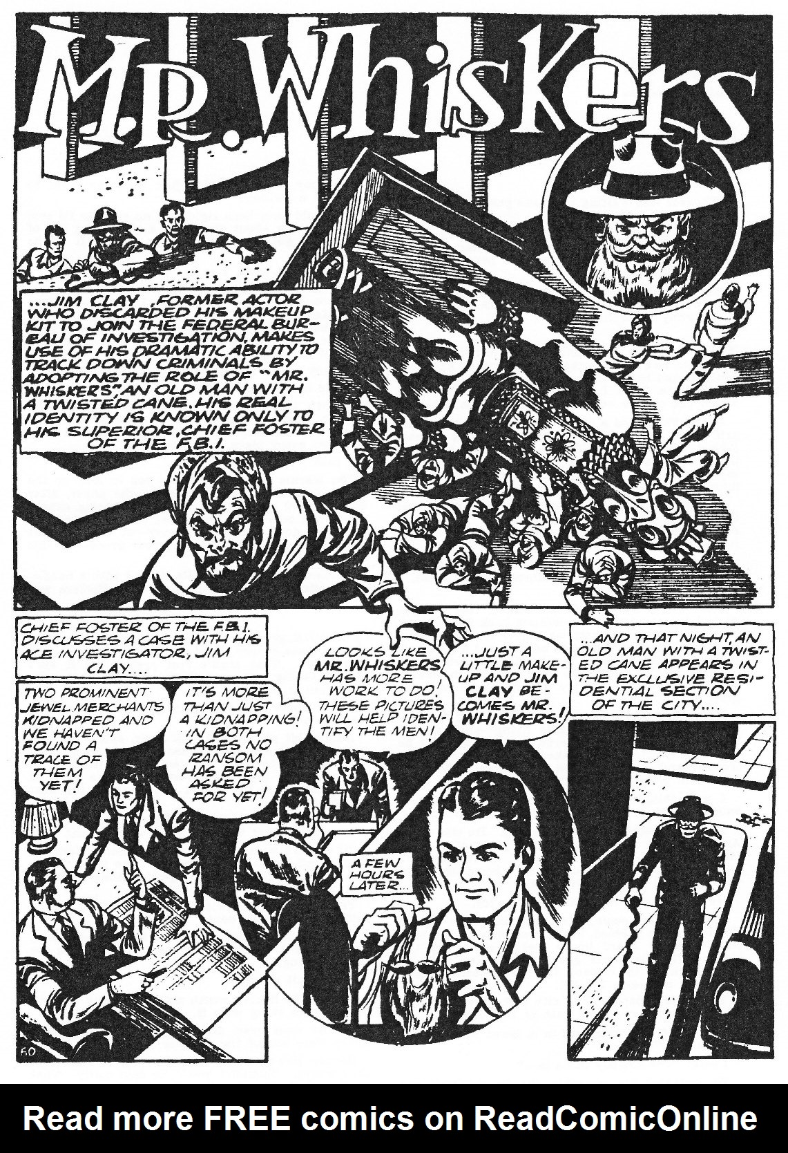 Read online Men of Mystery Comics comic -  Issue #81 - 126