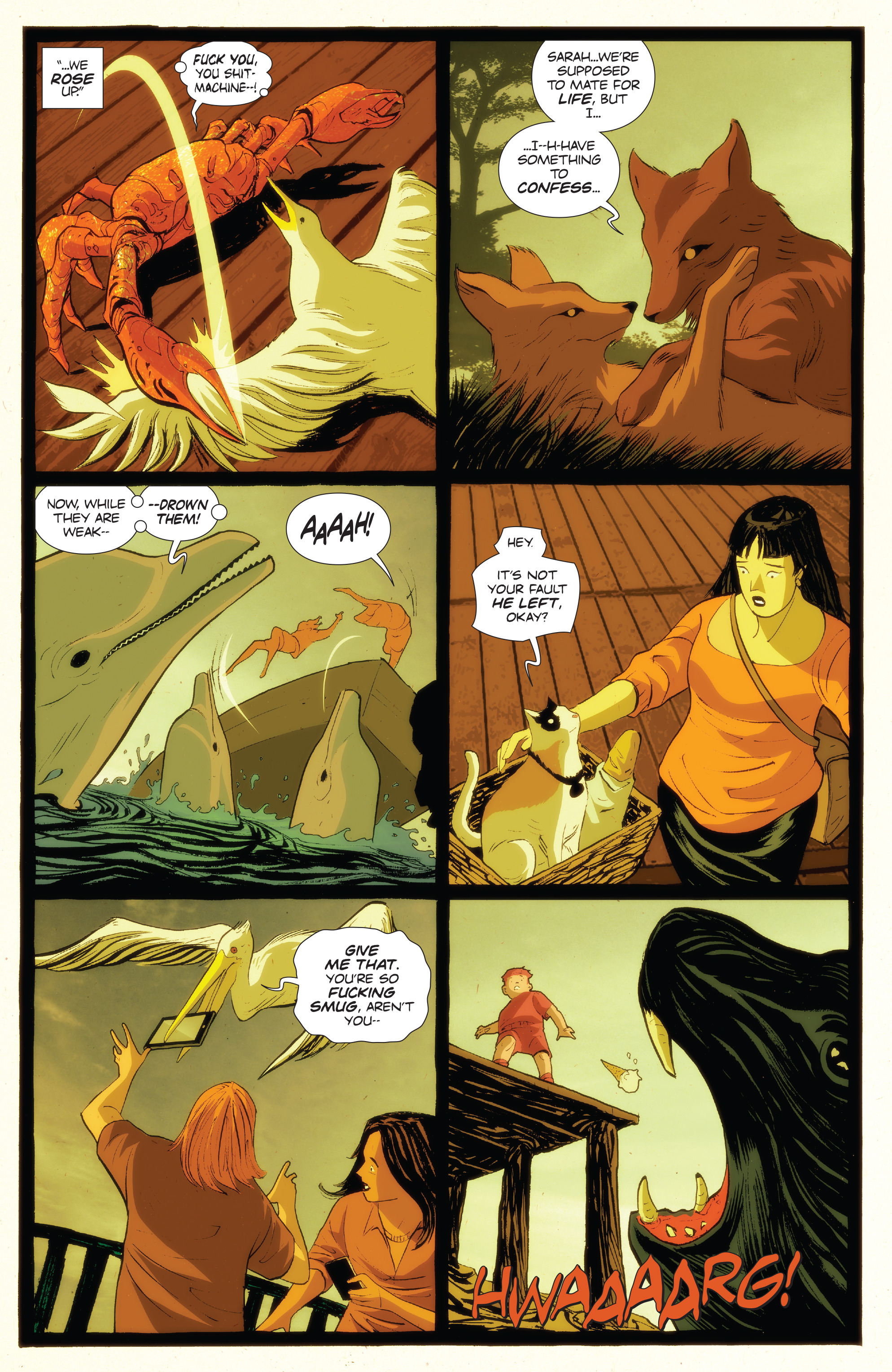 Read online Animosity: The Rise comic -  Issue #Animosity: The Rise Full - 5