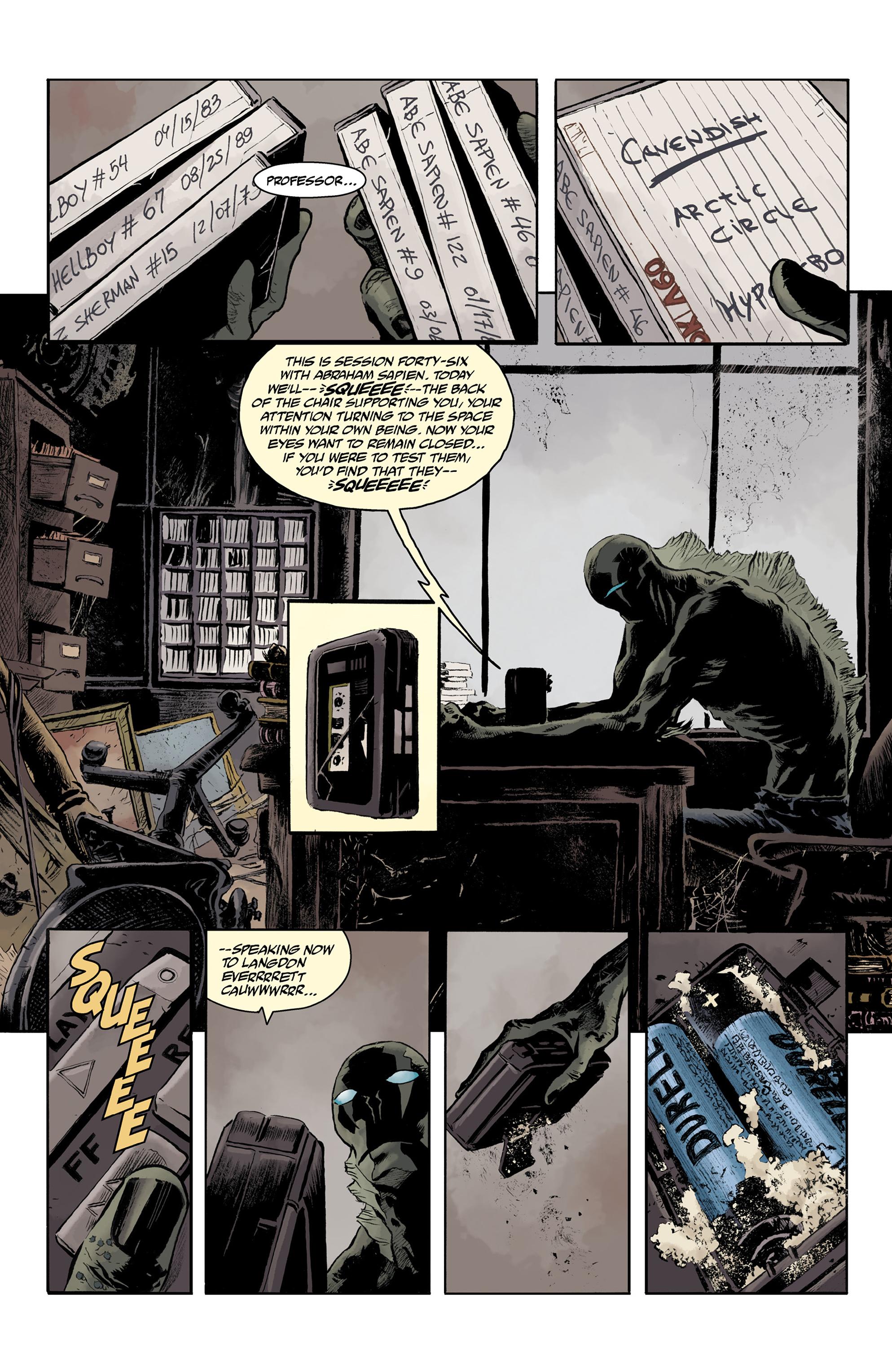 Read online Abe Sapien comic -  Issue #32 - 6