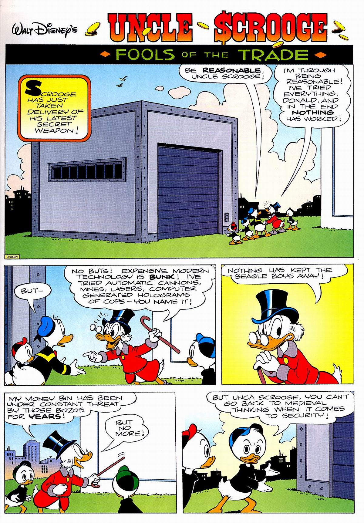 Read online Uncle Scrooge (1953) comic -  Issue #320 - 3