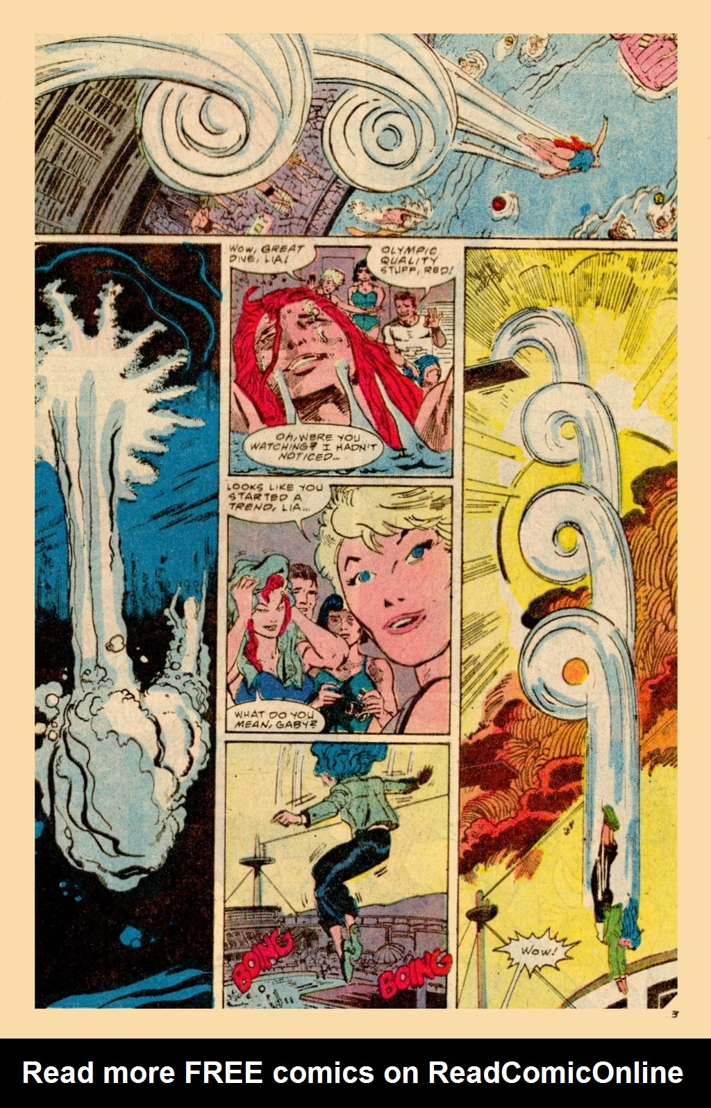 Read online Adventures of the Outsiders comic -  Issue #37 - 4