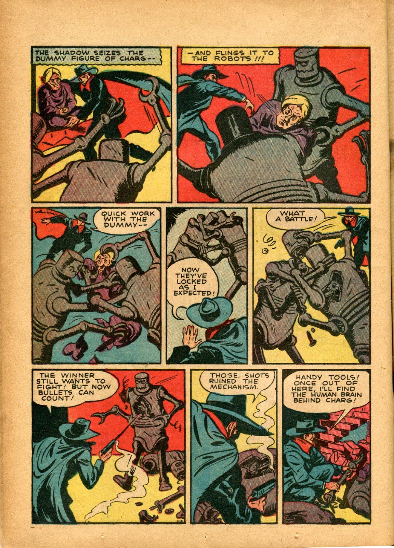 Read online Shadow Comics comic -  Issue #8 - 20