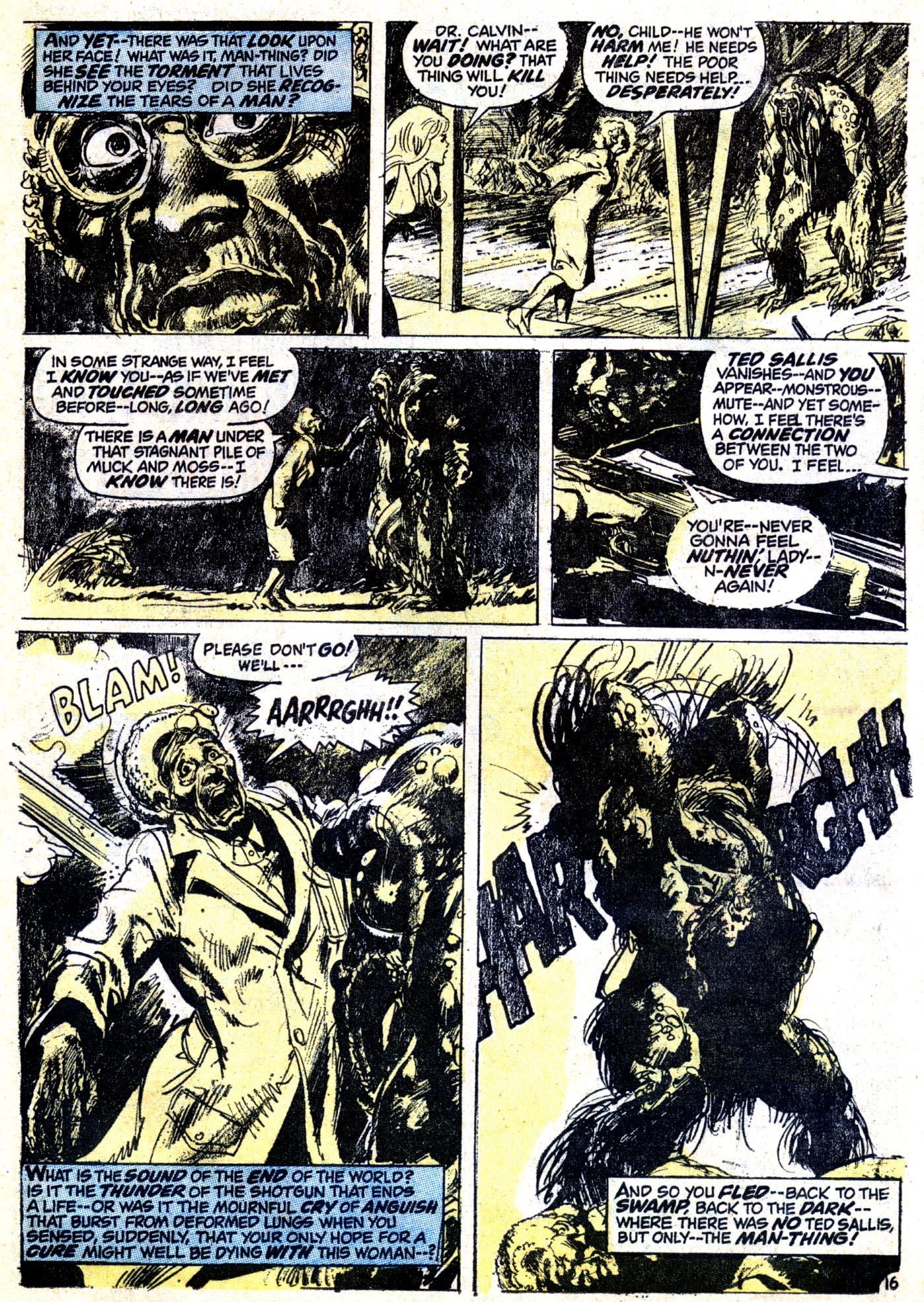 Read online Astonishing Tales (1970) comic -  Issue #12 - 17