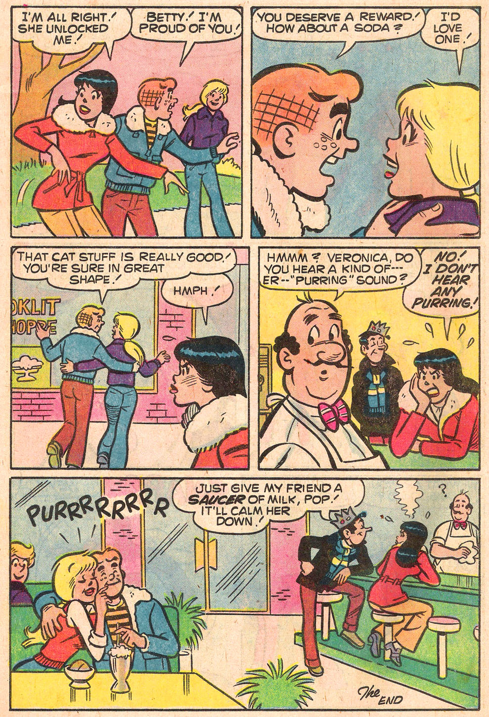 Read online Archie's Girls Betty and Veronica comic -  Issue #268 - 18