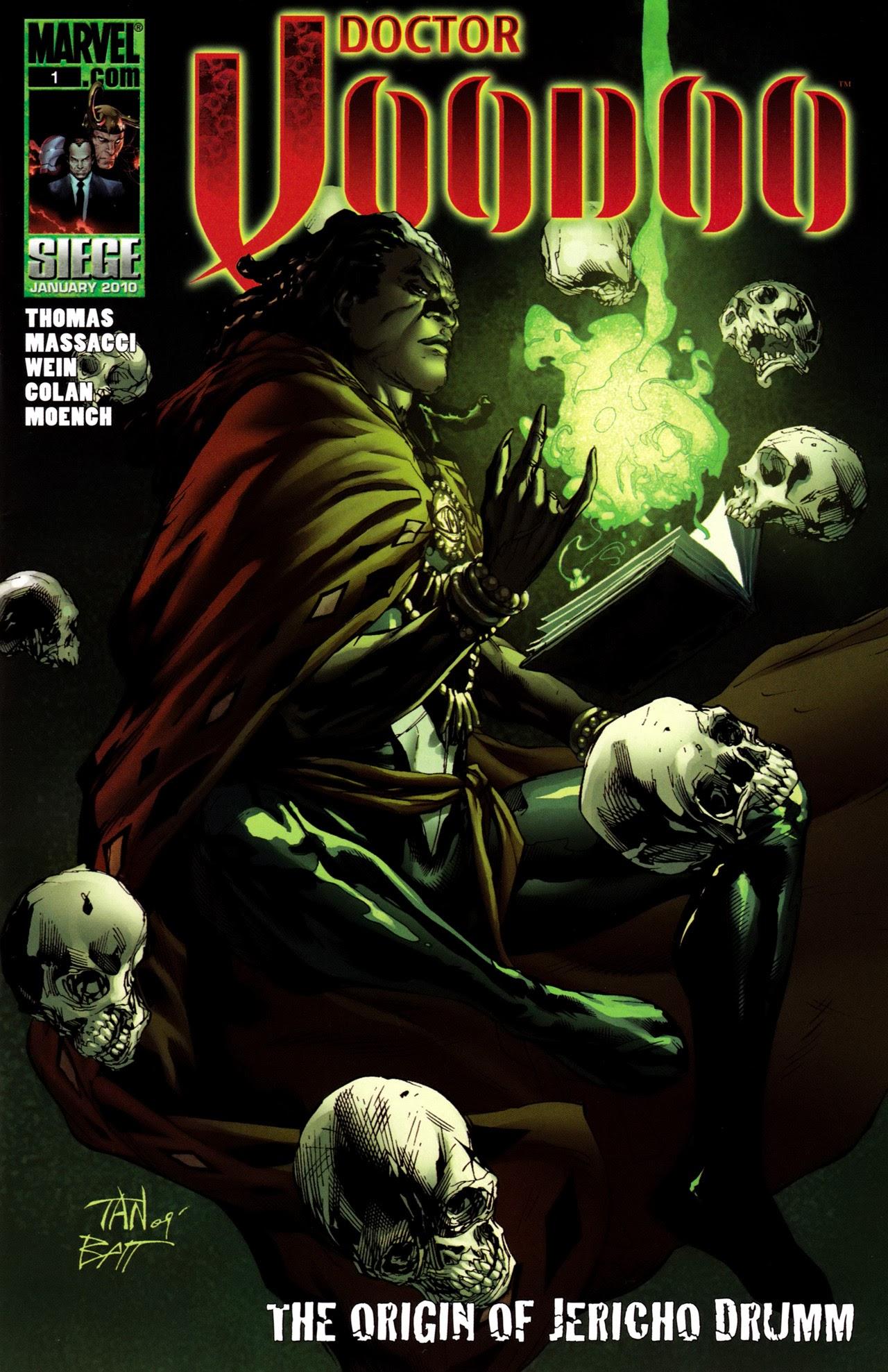 Doctor Voodoo: The Origin of Jericho Drumm Full Page 1