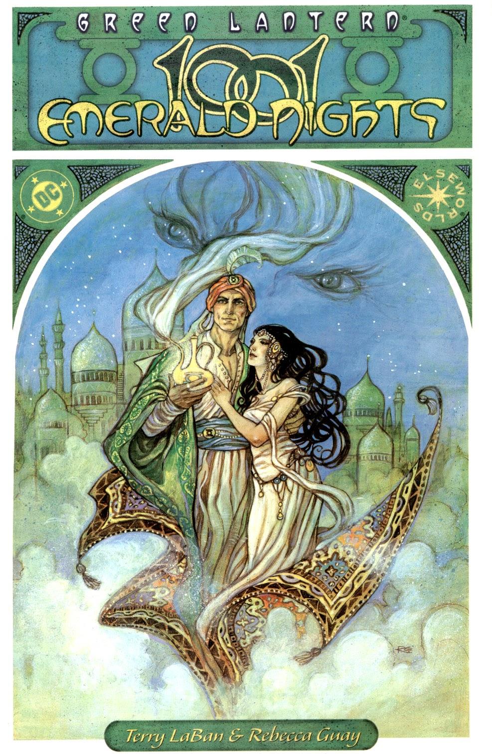 Green Lantern: 1001 Emerald Nights TPB Page 1