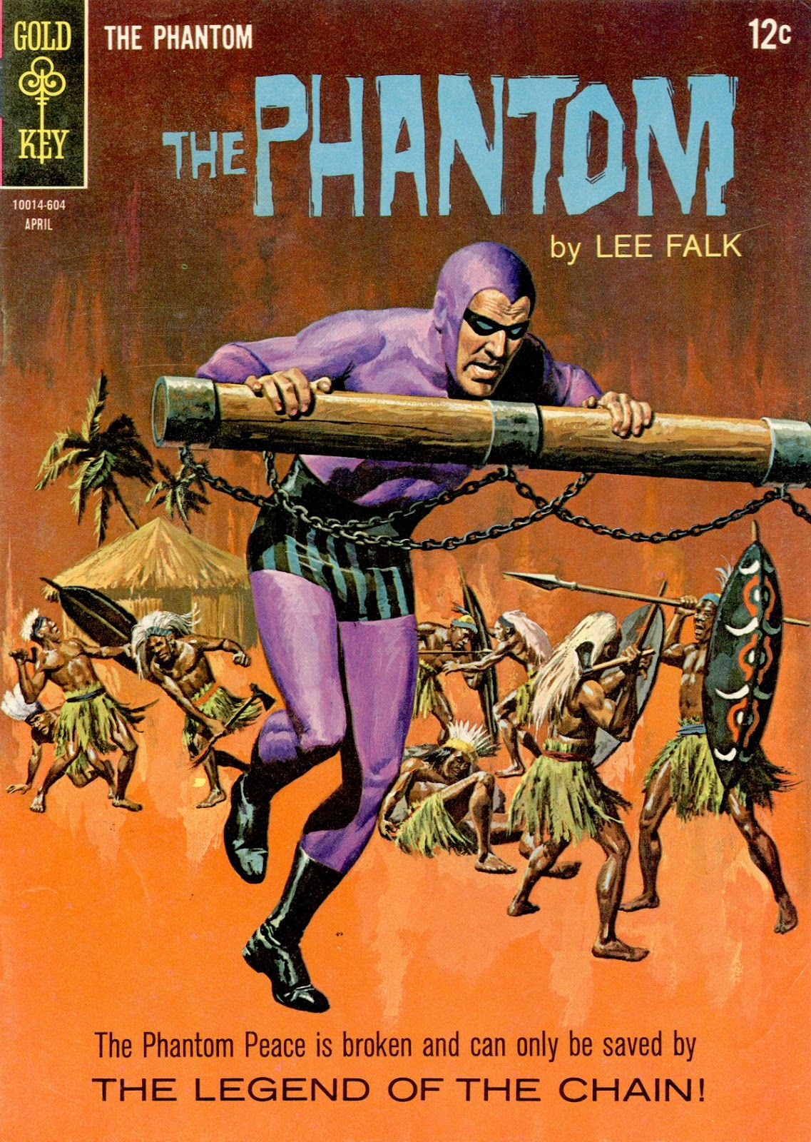 The Phantom (1962) issue 16 - Page 1