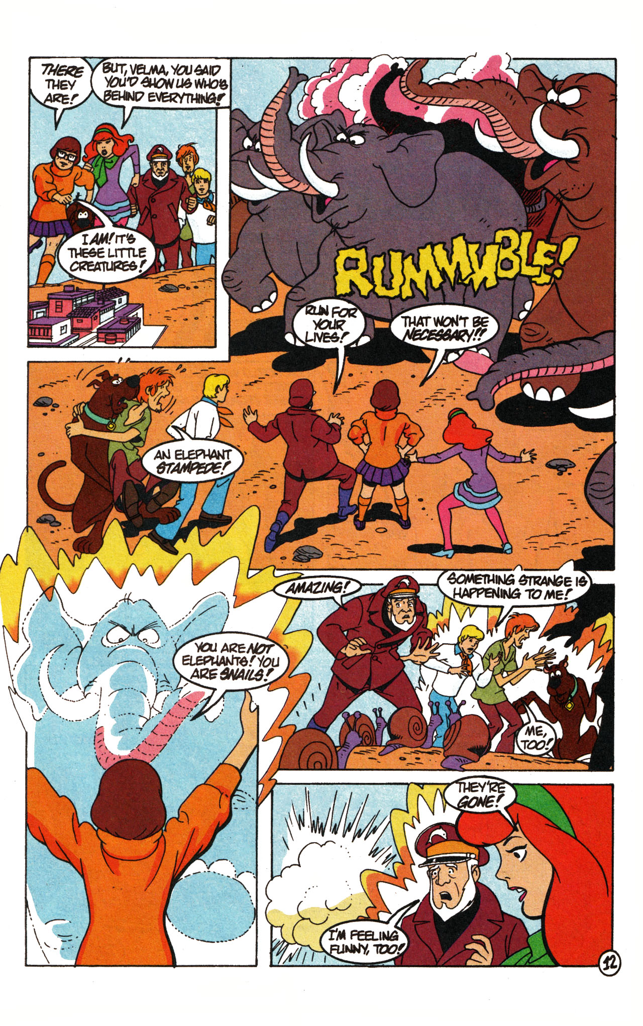 Read online Scooby-Doo (1995) comic -  Issue #15 - 17