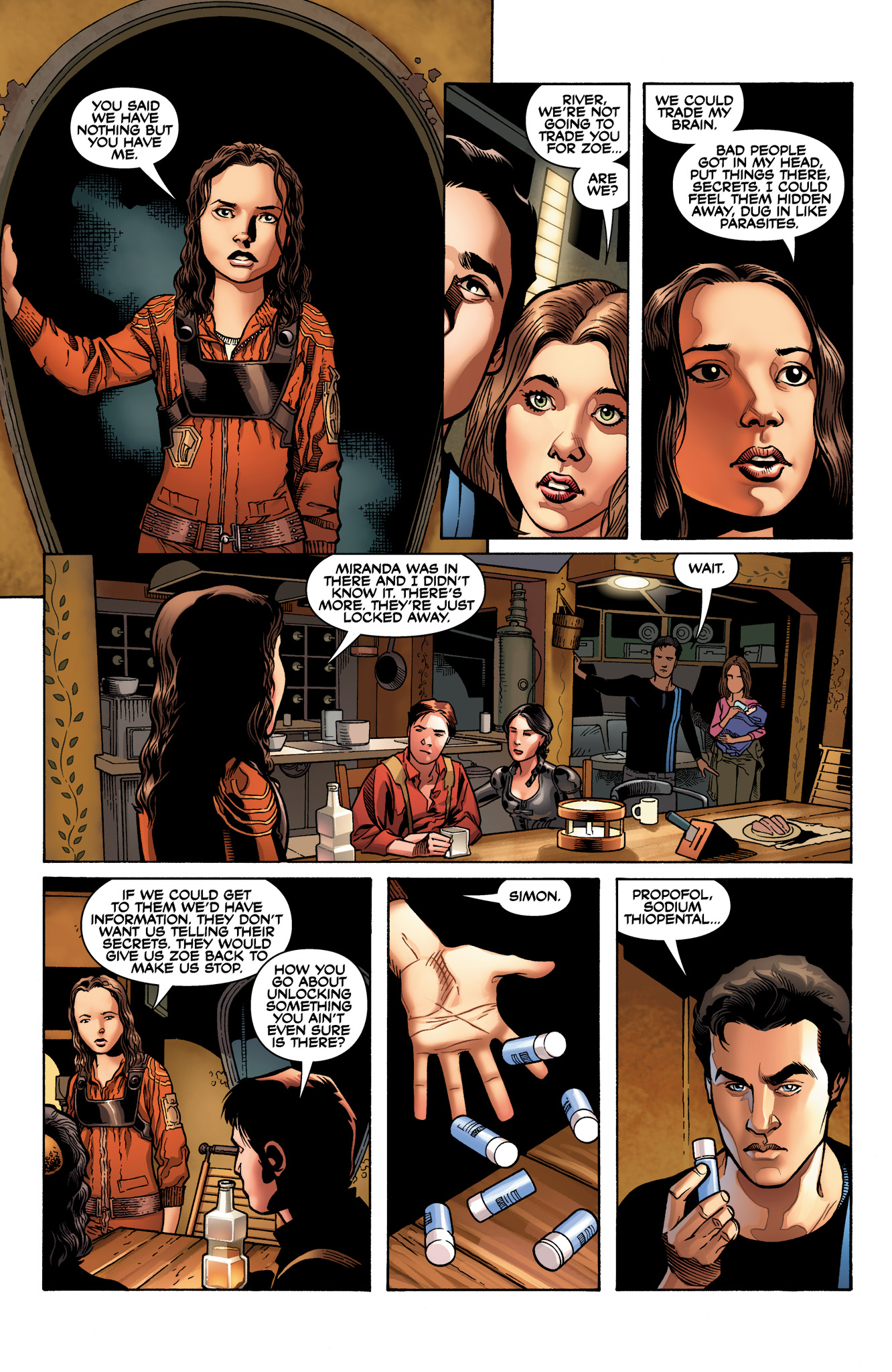 Read online Serenity: Firefly Class 03-K64  Leaves on the Wind comic -  Issue #2 - 12