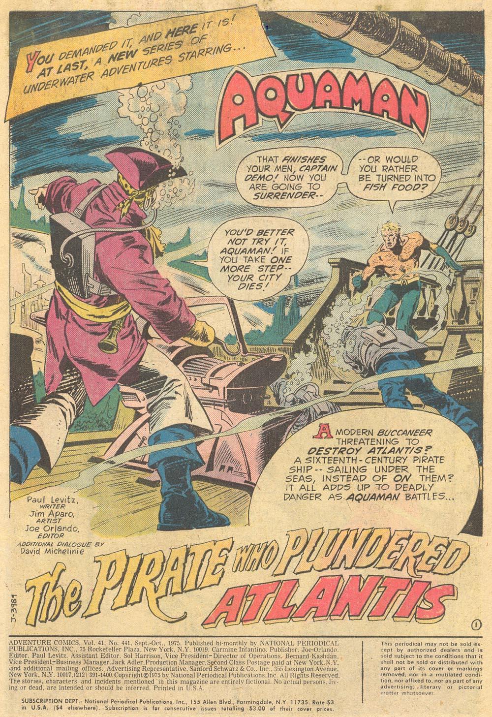Read online Adventure Comics (1938) comic -  Issue #441 - 3