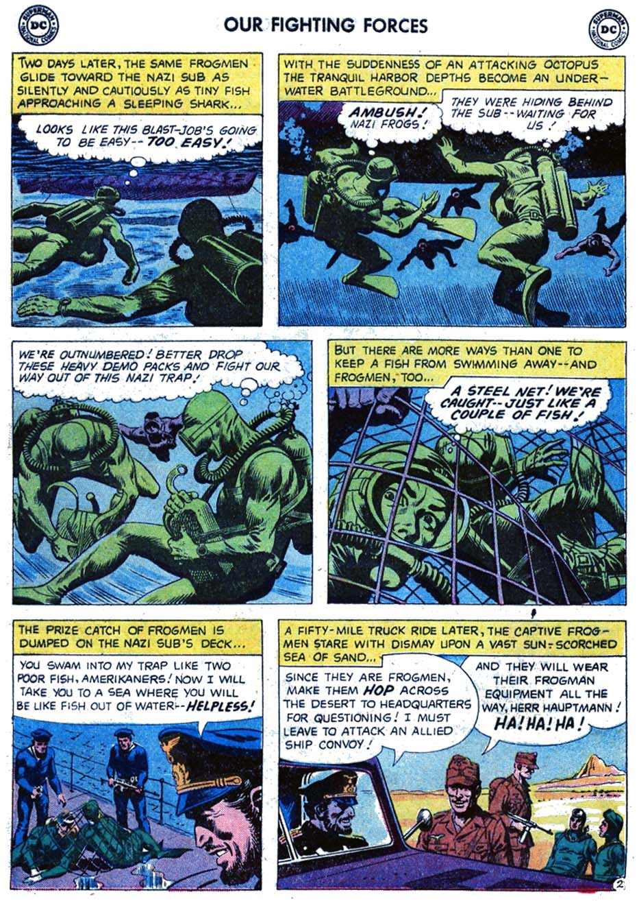 Our Fighting Forces (1954) issue 46 - Page 20