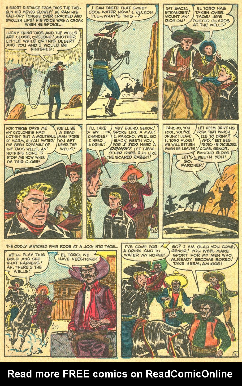 Read online Two-Gun Kid comic -  Issue #11 - 13