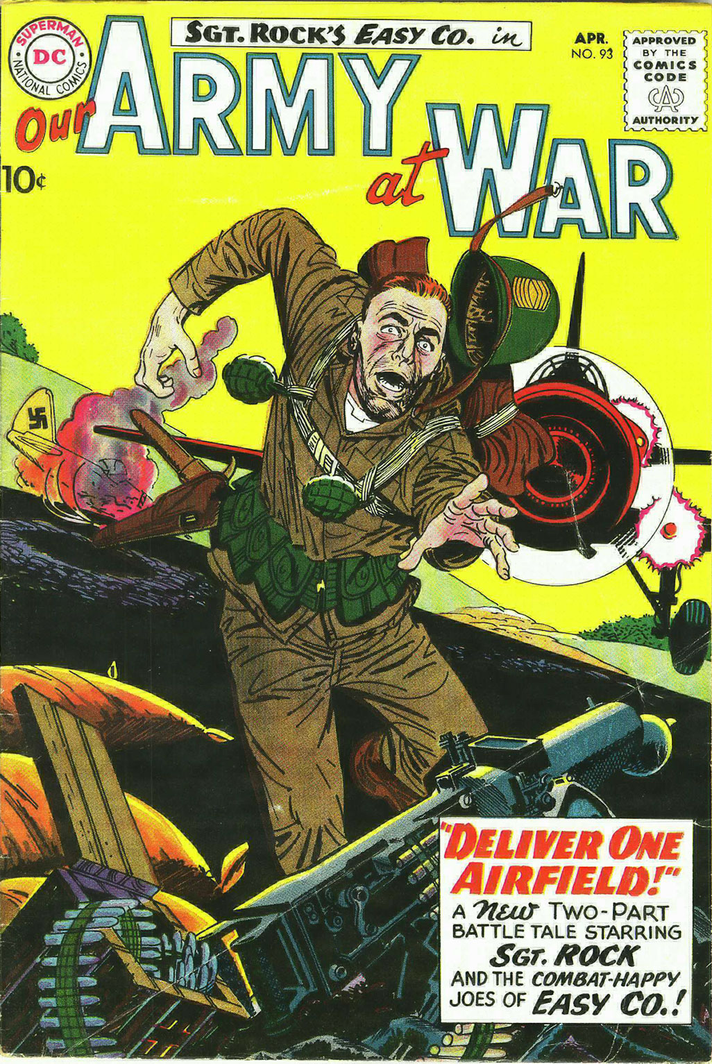 Our Army at War (1952) issue 93 - Page 1