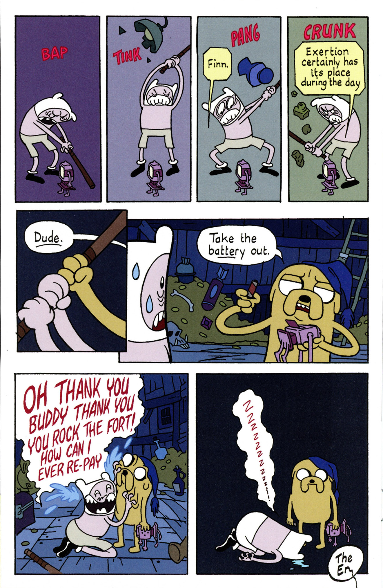 Read online Adventure Time Comics comic -  Issue #4 - 22