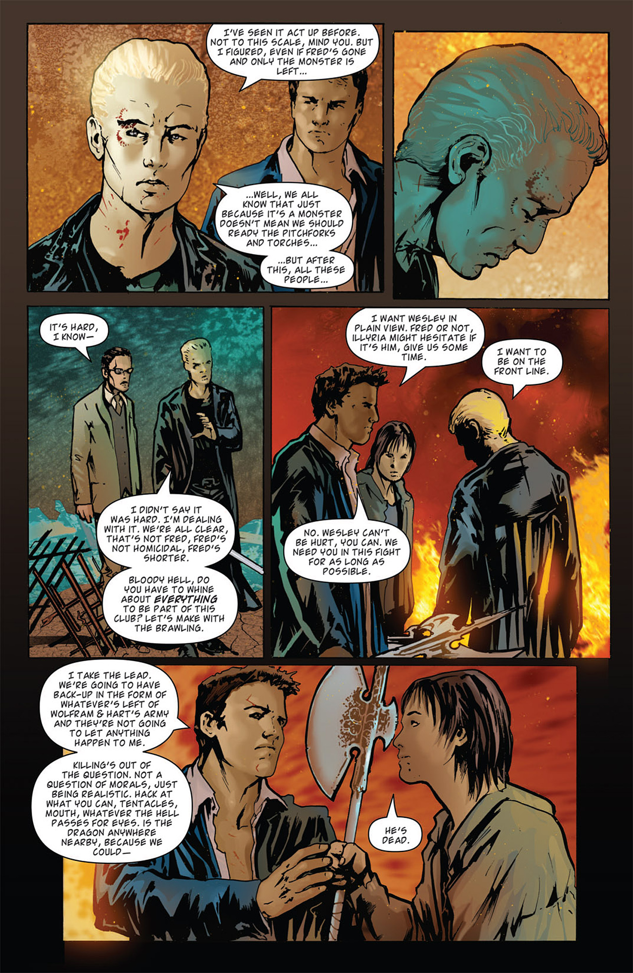 Read online Angel: After The Fall comic -  Issue #15 - 13