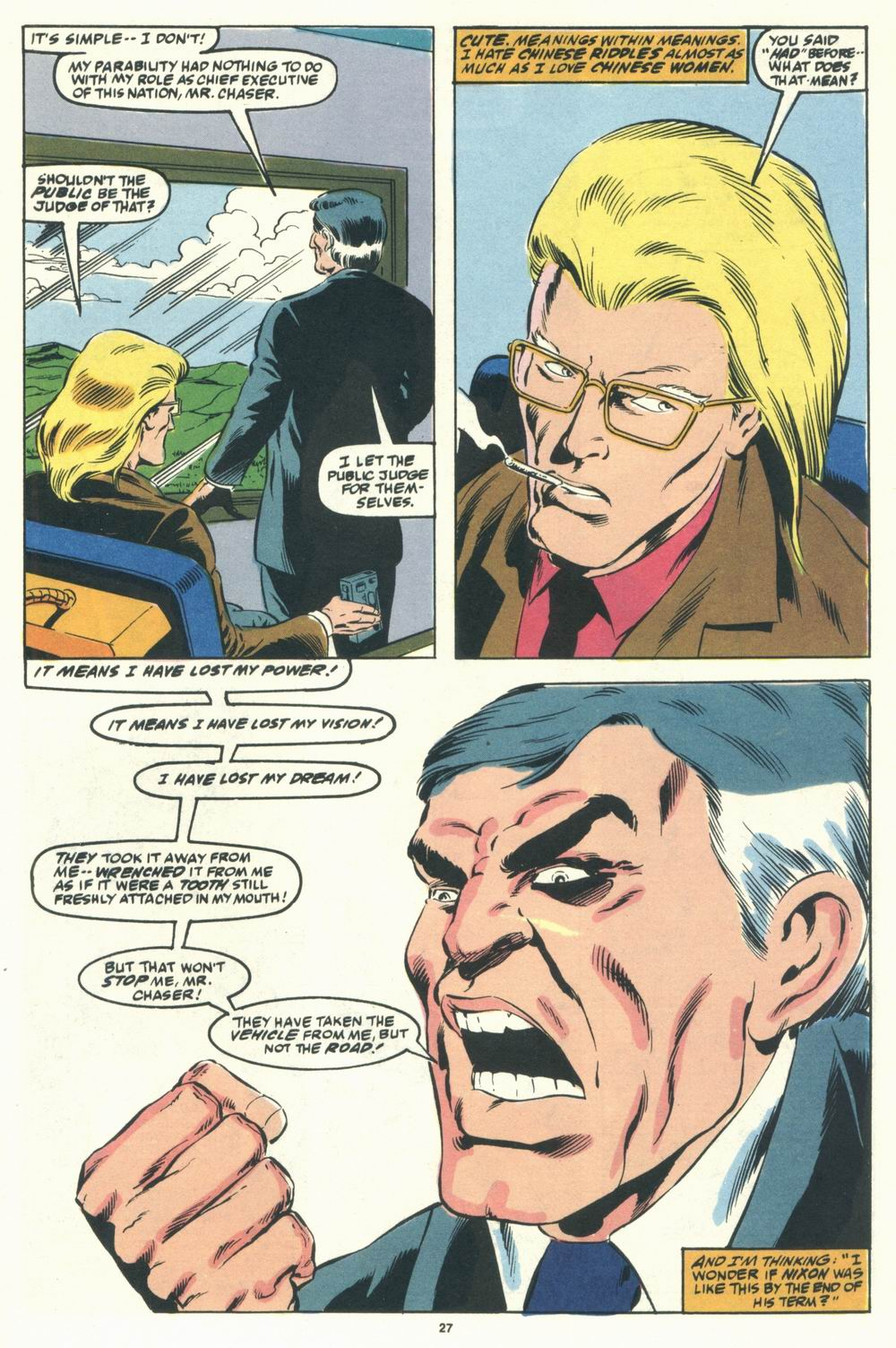 Read online Justice (1986) comic -  Issue #31 - 29