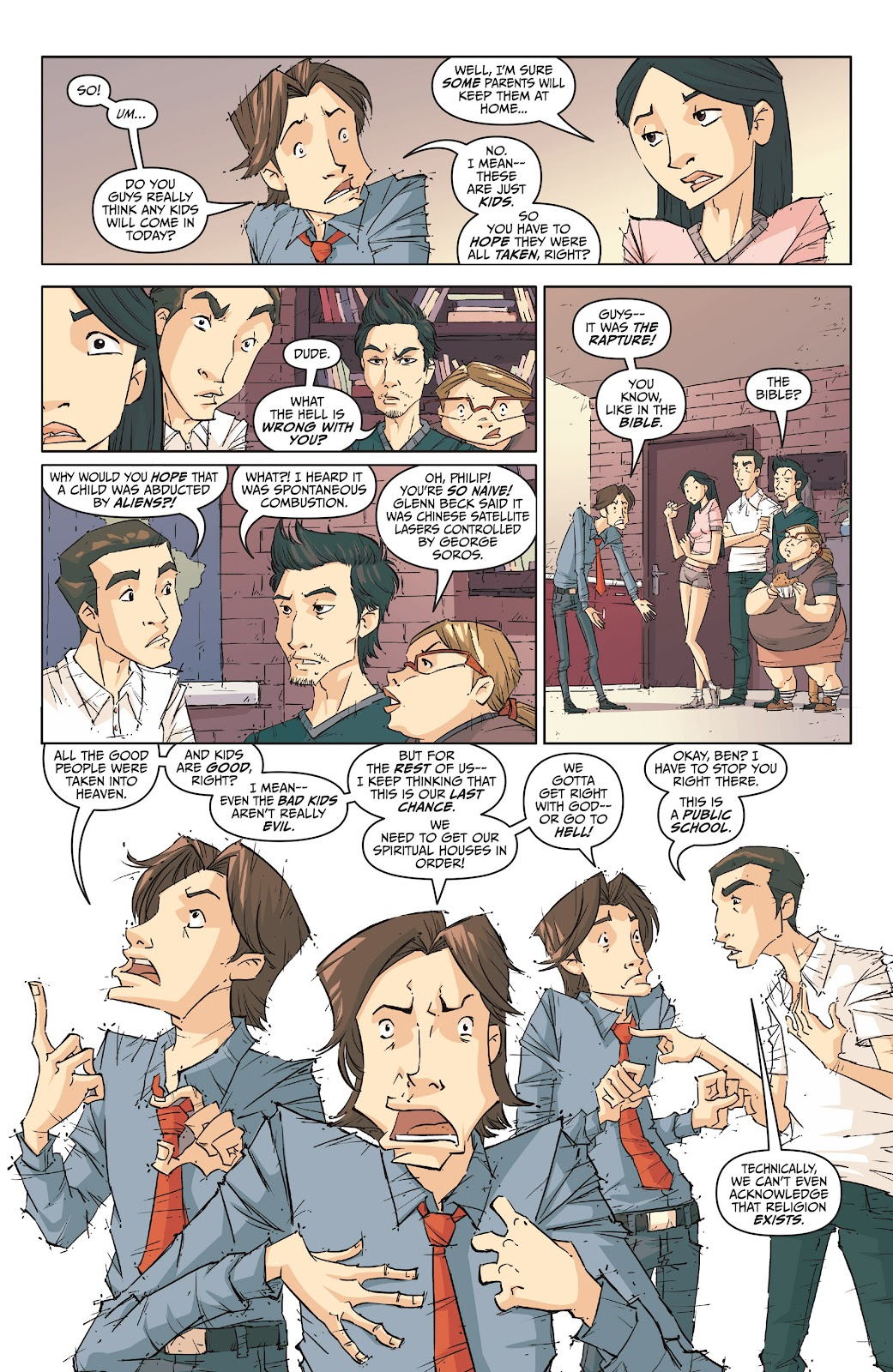 Read online The End Times of Bram and Ben comic -  Issue #1 - 20