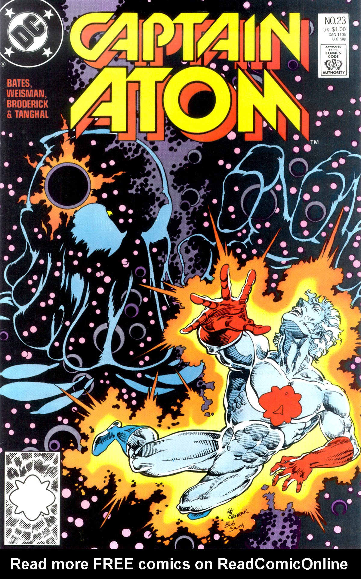 Captain Atom (1987) 23 Page 1