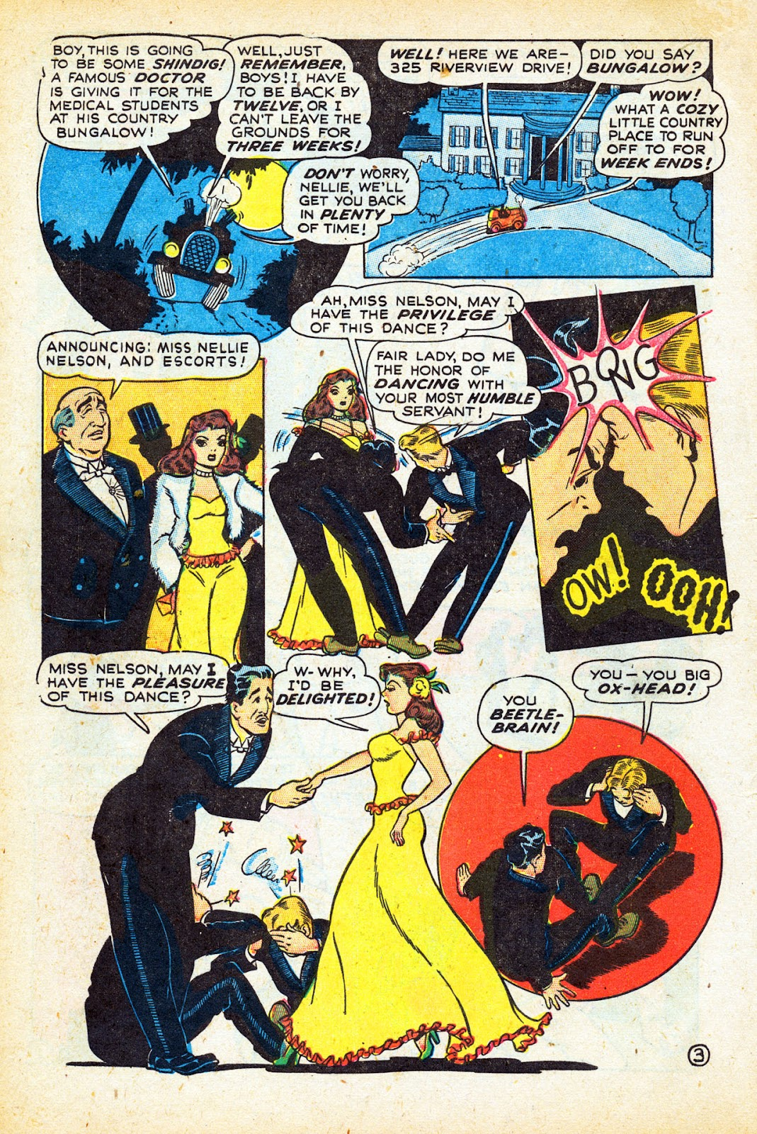Read online Nellie The Nurse (1945) comic -  Issue #12 - 14