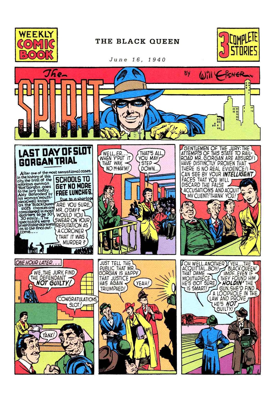 Read online Will Eisner's The Spirit Archives comic -  Issue # TPB 1 (Part 1) - 16
