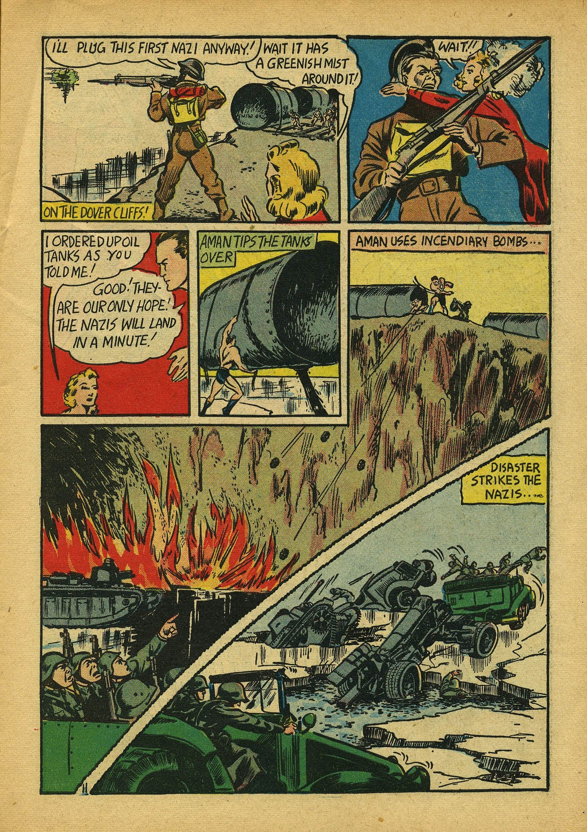 Read online Amazing Man Comics comic -  Issue #22 - 14